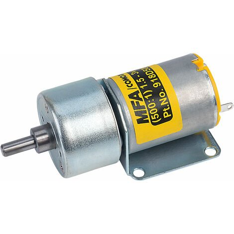 MFA 918D5001/1 Gearbox and Motor 500:1 4mm Shaft 1.5 to 3.0V