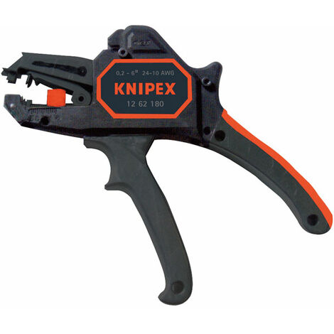 Knipex 12 62 180 Automatic Insulation Stripper 0.2 - 6.0mm