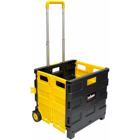 Rolson 68900 Folding Boot Cart 25kg Weight Capacity
