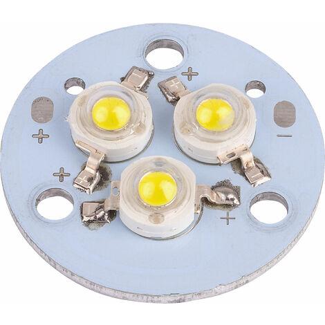 TruOpto OSPR3XW6-W4XZE1C1E 3x1 Power LED Module White 300lm
