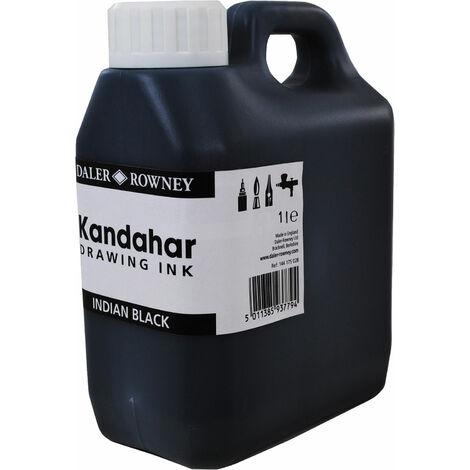 Daler Rowney Black Kandahar Ink 1L