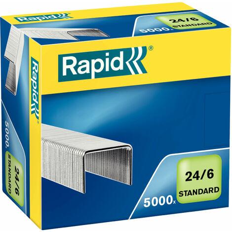Rapid Staples 24/6 - Pack of 5000