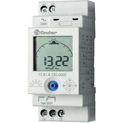 Finder 12.81.8.230.0000 Digital Time/Astro-Switch 16A 1 CO (SPDT)