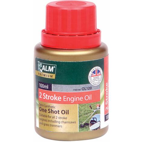 ALM OL120 2-Stroke One Shot Bottle Oil 100ml