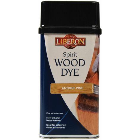 Liberon 014427 Spirit Wood Dye Antique Pine 250ml