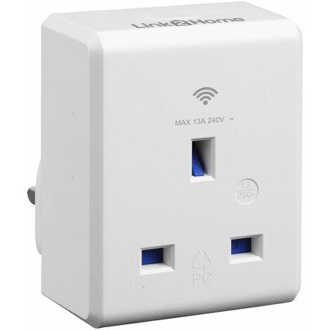 Link2Home L2H-SMARTPLUG Wi-Fi Plug-in Socket 13 amp