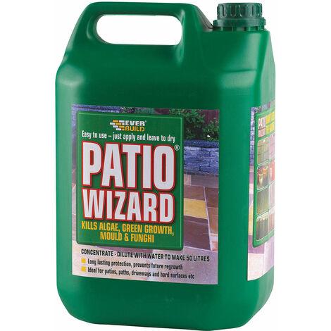 Everbuild PATWIZ5 Patio Wizard Concentrate 5 Litre