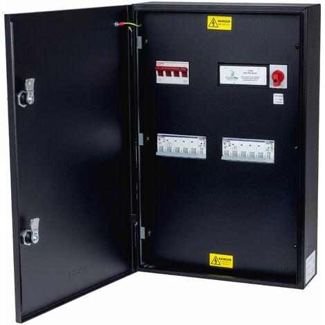 Matt:E EVU-1-100-TP Connection centre built in O-PEN for 1 x 100amp TPN load