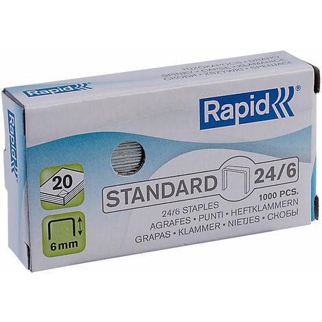 Rapid Staples 24/6 - Pack of 1000