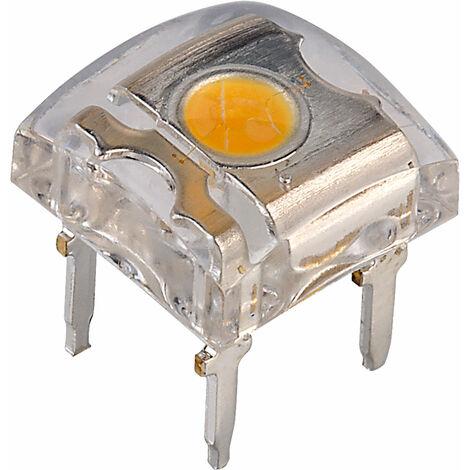 TruOpto OSM543Z4E1P 7.6mm Warm White Superflux LED 25lm