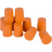 Eisco Rubber Stoppers 19mm - Pack of 10