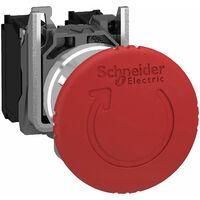 Schneider XB4BS8442 1NC Latching E-Stop Switch