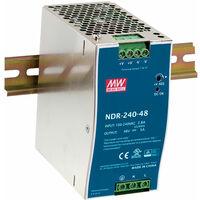 Mean Well NDR-240-24 24V / 240W Slim/Economical Din Rail PSU