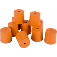 Eisco Rubber Stoppers 29mm Pack of 10