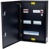 Matt:E EVU-3-32-TP-M Conn Unit O-PEN 125 3 x 32A TPN MCB's