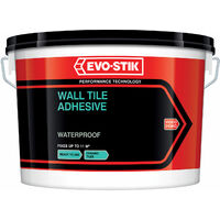 Evo-Stik 30812633 Waterproof Wall Tile Adhesive 10 Litre
