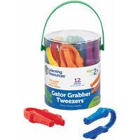 Learning Resources Gator Grabber Tweezers