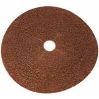 Faithfull FAIADFS17824 Floor Disc E-Weight Aluminium Oxide 178 x 22mm 24G