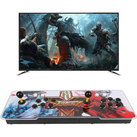 Controlador de Juego  1099 en 1 para computadora PC Versión Doble Controlador de Consola de Juegos Soporte para TV Laptop