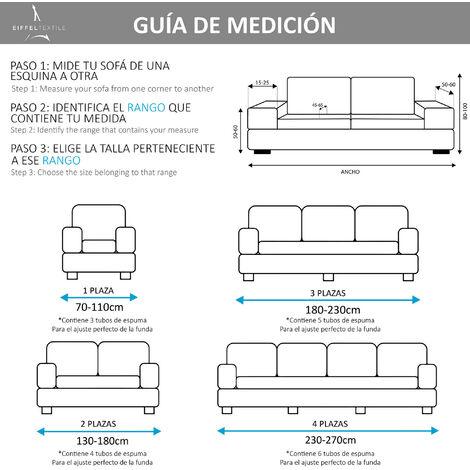 Medidas del sofá
