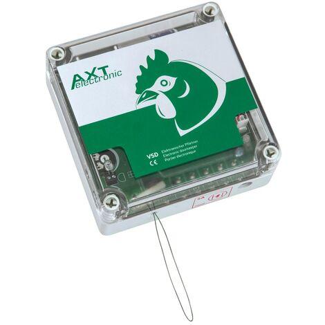 Portier Automatique Poulailler Option Capteur De Luminosité À Piles Vsdb - Axt Electronic