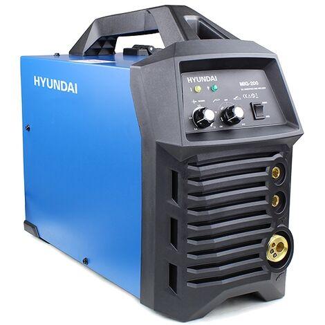 Hyundai HYMIG-200 200Amp MIG/MMA(ARC) Inverter Welder, 230V Single Phase