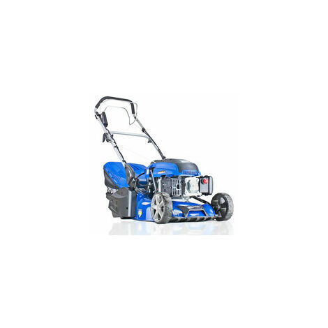 "Hyundai Self Propelled 17"" 43cm / 430mm 139cc Electric Start Petrol Roller Lawnmower | HYM430SPER"