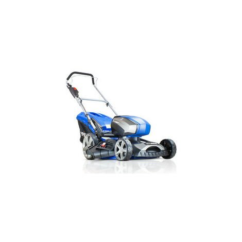 """Hyundai 18""""/45cm Cordless 80v Lithium-Ion Battery Lawnmower with Battery and Charger 