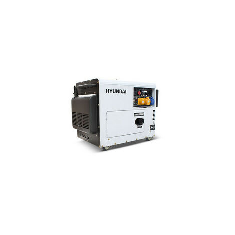 Hyundai 5.2kW/6.5kVA Silenced Standby Single Phase Diesel Generator   DHY6000SE