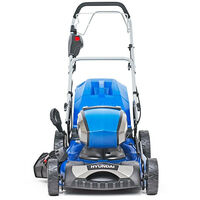 """Hyundai 18""""/45cm Cordless 80v Lithium-Ion Battery Self Propelled Lawnmower with Battery and Charger   HYM80Li460SP"""