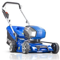 Hyundai 42cm Cordless 40v Lithium-Ion Battery Lawnmower with Battery and Charger | HYM40LI420P