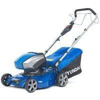 Hyundai 42cm Cordless 40v Lithium-Ion Battery Self-Propelled Lawnmower with Battery and Charger | HYM40LI420SP