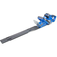 Hyundai 40v Lithium-ion Battery Hedge Trimmer With Battery and Charger   HYHT40LI