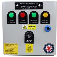 ATS Automatic Transfer Switch Package for Single Phase Hyundai 3000RPM Diesel Generators