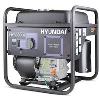 Hyundai 3000W Converter Generator 212cc 7hp   HY3000CI