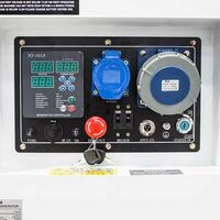 Hyundai 10kW/12.5kVA 230v Mains Standby Silenced Diesel Generator   DHY12500SE
