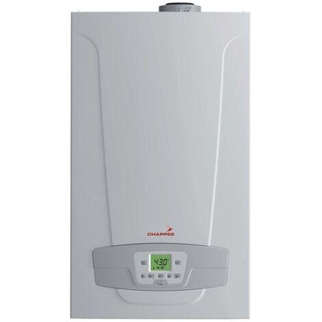 Chaudière Gaz Condensation Initia + Compact Chappée 25 kW Nue (Sans Ventouse, Douilles et Dosseret)