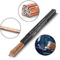 STAHLWERK TIG Baguettes à souder ER70S-G3 Acier/Ø 1,6 x 500 mm / 1 kg TIG Consommables de soudage Matériau d'addition