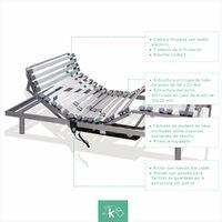 Cama Articulada 5 planos   Motor con mando por cable 90 x 190cm