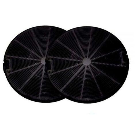 kit 2 FILTRI CARBONI CAPPA FABER Diametro 15 modelli VALUE INTRA