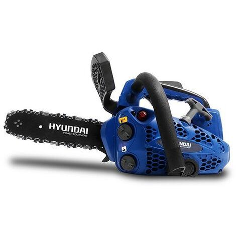 HYUNDAI Elagueuse thermique 25.4 cm³ 30 cm - Guide et chaîne HEL2530-1