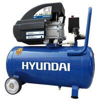 HYUNDAI Compresseur 50L 8 bar 2hp 196 L/min HYAC50-21
