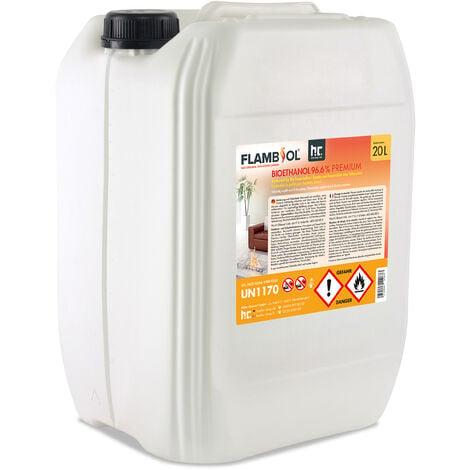 2 x 20 Litre Bioéthanol à 96,6 % dénaturé