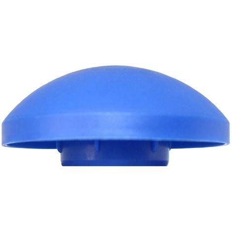 "Trampoline Pole Caps | Enclosure Net Plastic Top End Caps for 1"" Diameter Poles | For Outside Frame Nets"