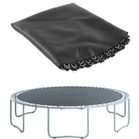 Pro Trampoline Replacement Jumping Mat / Bed / Sheet | Compatible with 14 ft. Frames with 88 V-Rings | Use 7 inch Springs | Perfect Bounce, Water-resistant, UV Resistant