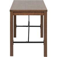 6071 Bureau, Table, Poste de Travail, Petite Taille, 120 x 60 x 75 cm, pour Bureau, Salon, Chambre, Assemblage Simple, métal, Style Industriel