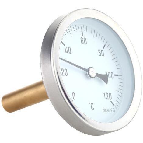 Termometro A Cadran Horizontal De 63 Mm 0 120 Ac E1098 Termometro infrarrojo digital envio desde cdmx sin contacto. eur