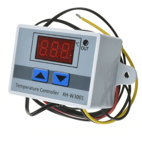 Controlador digital de temperatura de precalentamiento / frio de LED, 220V