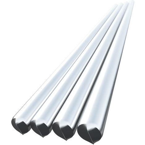 Alambre de soldadura de aluminio de baja temperatura, 3.0mm*225mm, 4 piezas