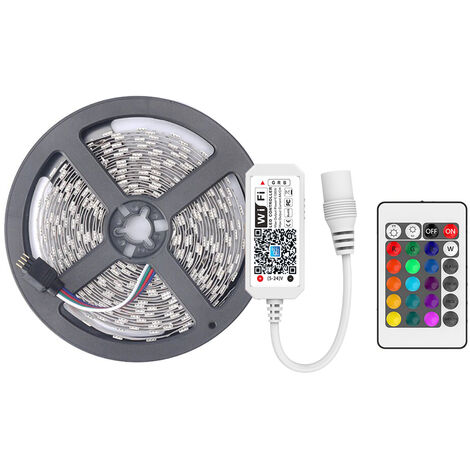 5M inteligente WIFI Control de color Cambio de LED RGB 5050 Tiras de luz, 1 #